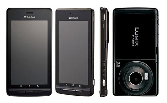 Panasonic анонсирует камерафон Lumix Phone 101P