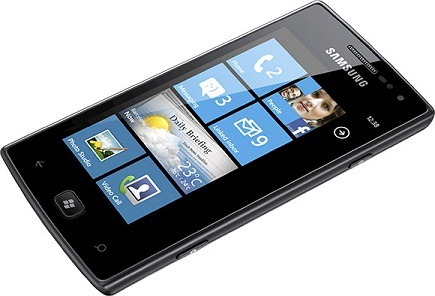 Omnia W – первый смартфон от Samsung на базе Windows Phone 7 Mango