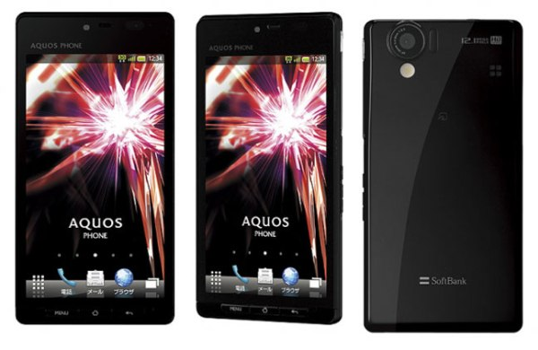 Sharp анонсировали Android-смартфон с 3D-дисплеем диагональю 4,5 дюйма