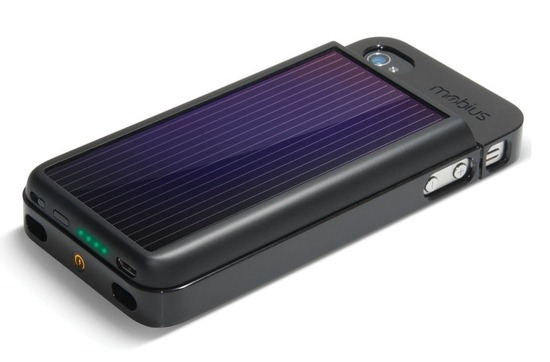 Solar iPhone Battery