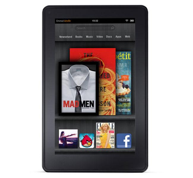 Анонсирован планшетник Amazon Kindle Fire