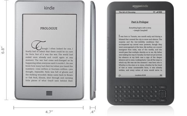 Компания Amazon представила новые читалки Kindle по очень привлекательной цене