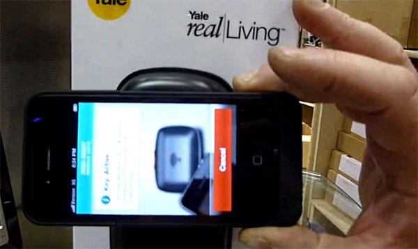 Дверной замок с NFC