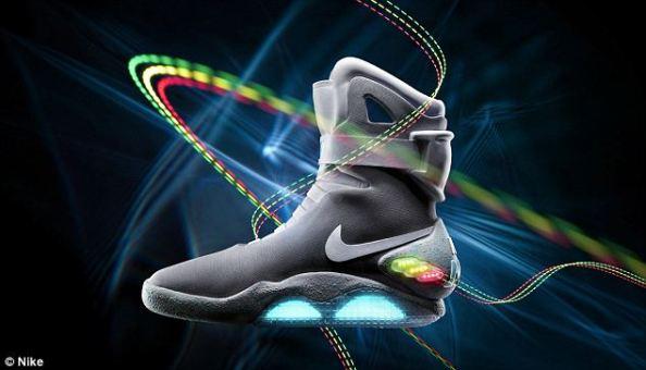 Кроссовки Nike из фильма «Назад в будущее» продаются с аукциона
