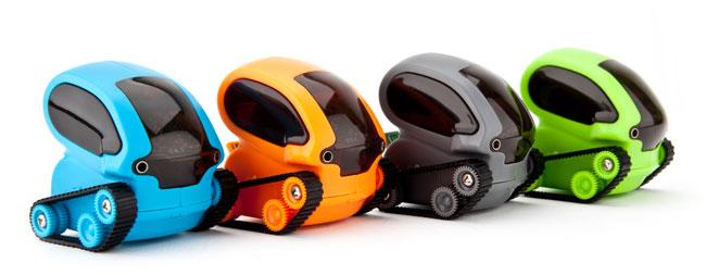TankBot от Desk Pets – оригинальная игрушка для гиков