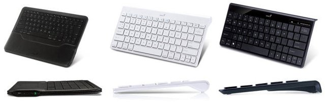 Bluetooth-клавиатуры для iPad и Android-планшетников от Genius