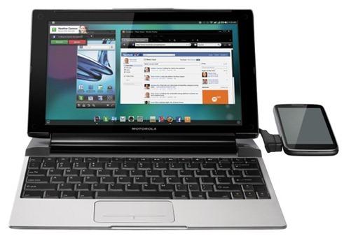 Motorola Lapdock 100 превратит смартфон в нетбук