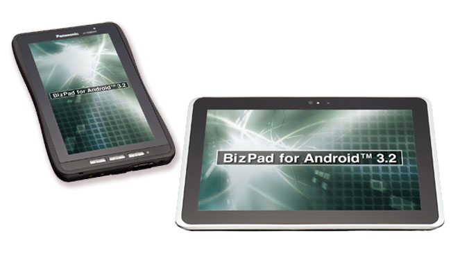 Honeycomb-планшетники BizPad от Panasonic