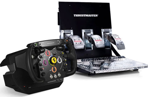 Thrustmaster выпустит реплику руля Ferrari 150° Italia