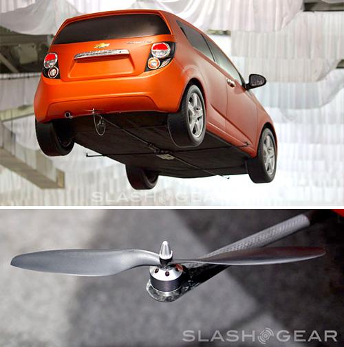 Летающие автомобили от Chevy