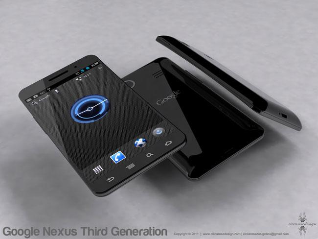 Оригинальный концепт смартфона Google Nexus Prime