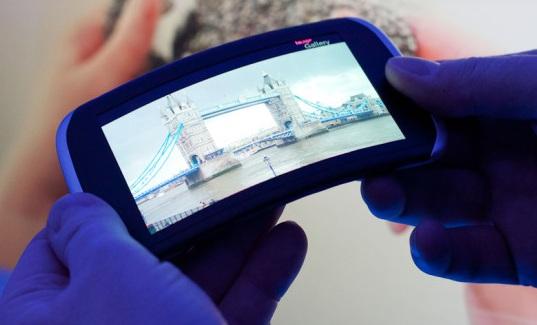 Прототип гибкого гаджета от Nokia
