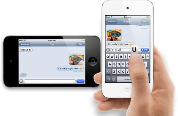Apple анонсировали обновленные iPod touch и nano