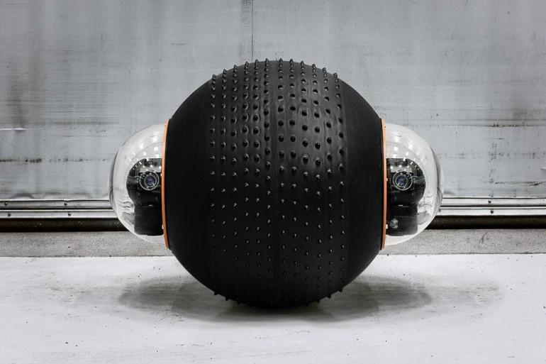 Робот-шпион Rotundus GroundBot