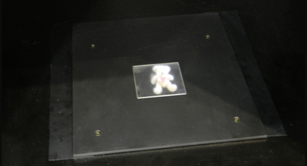 В Японии представлен прототип дисплея с голографическим эффектом