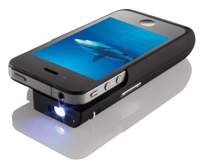 Карманный проектор для iPhone 4
