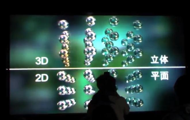 Самый большой в мире 3D-дисплей, не требующий очков