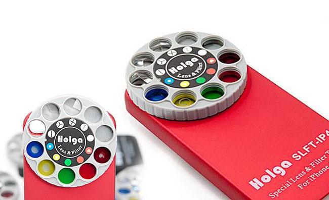 Lens Filter от Holga – сменные фильтры для камеры iPhone
