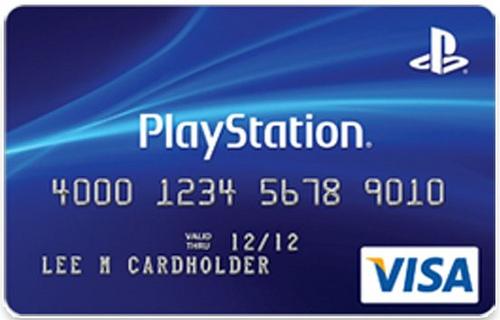 Sony выпускает кредитные карты Playstation