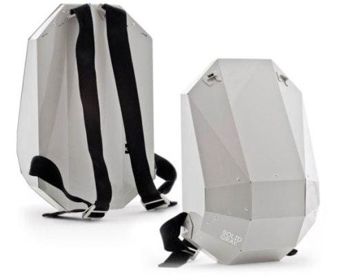 Дизайнерский защищенный рюкзак Solid Gray для гаджетов
