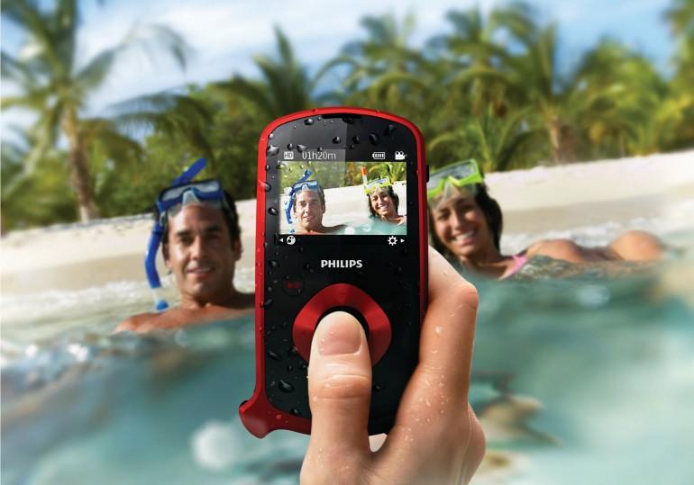 ESee – надежная карманная видеокамера от Philips
