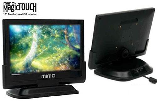 Mimo выпускает емкостные USB-мониторы с поддержкой мультитач