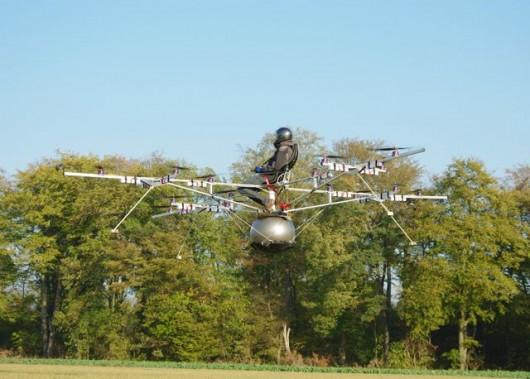 «Мультикоптер» – инновационное электрическое летательное средство