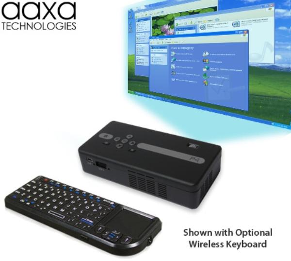 AAXA P4 – самый яркий пикопроектор в мире