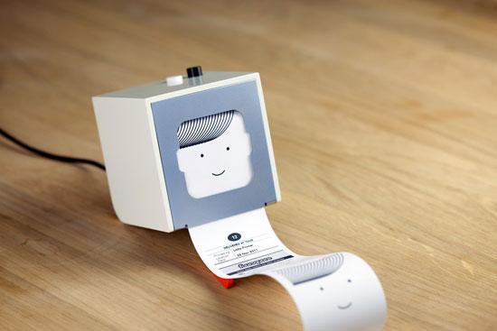 Крохотный принтер для особо сентиментальных личностей