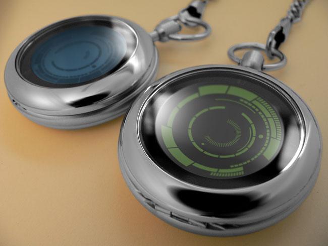 Tokyoflash Kisai Rogue Touch – карманные часы с тачскрином