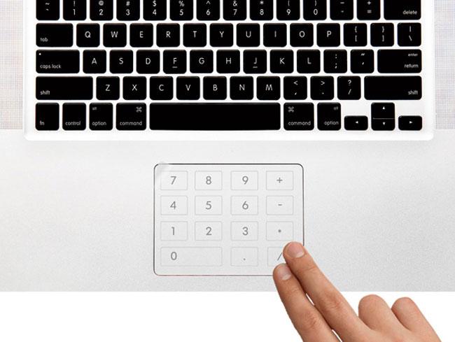 Пленка Number Pad вернет ноутбукам числовую панель