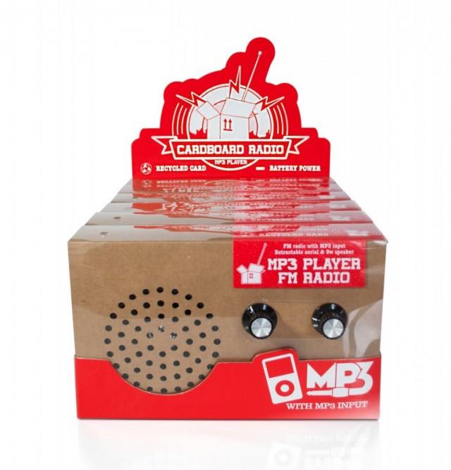 «Зеленое» картонное радио Environmentally Sound