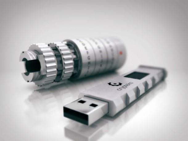 Crypteks USB – защищенная флешка для любителей «Кода да Винчи»