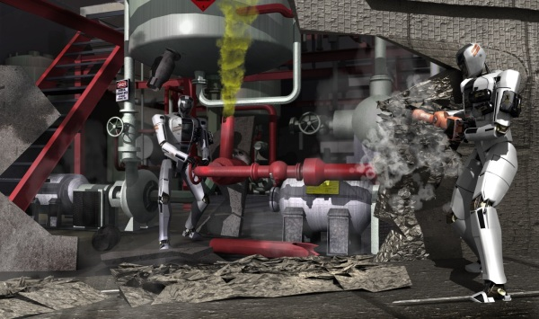 Автономные роботы для DARPA почти готовы