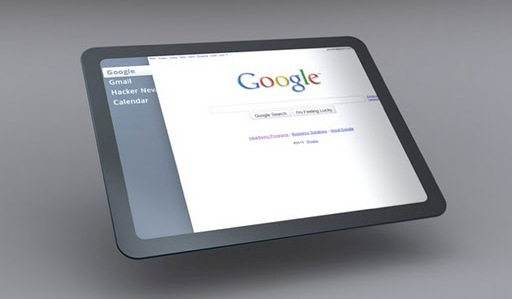 Google готовят к выпуску собственный планшетник