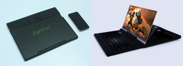 LightPad превратит смартфон в ноутбук