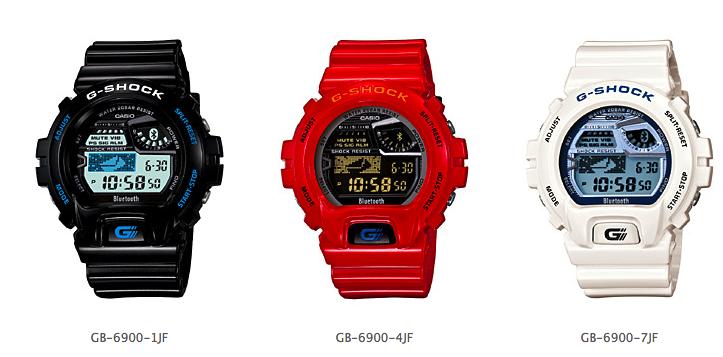 Новые часы G-SHOCK GB-6900 способны синхронизироваться со смартфоном
