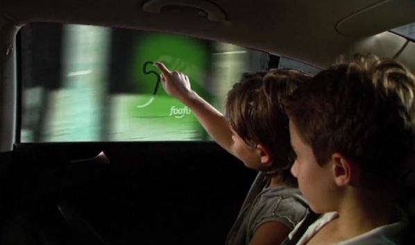 Концепт автомобильных окон с дополненной реальностью от GM