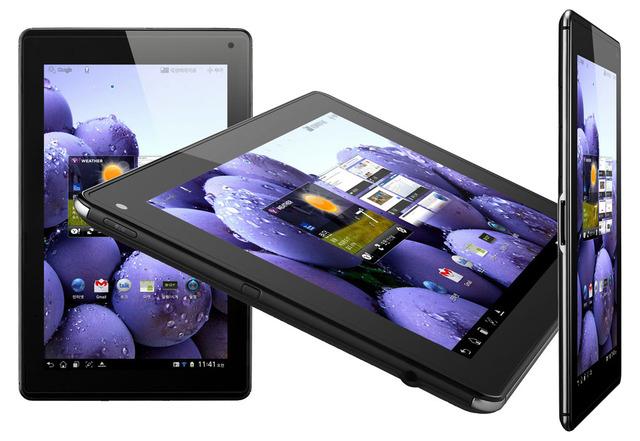 Анонсирован планшетник LG Optimus Pad с поддержкой LTE