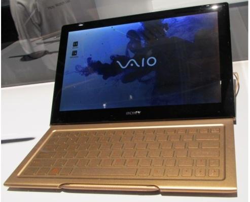 Концепт гибридного ультрабука Sony Vaio