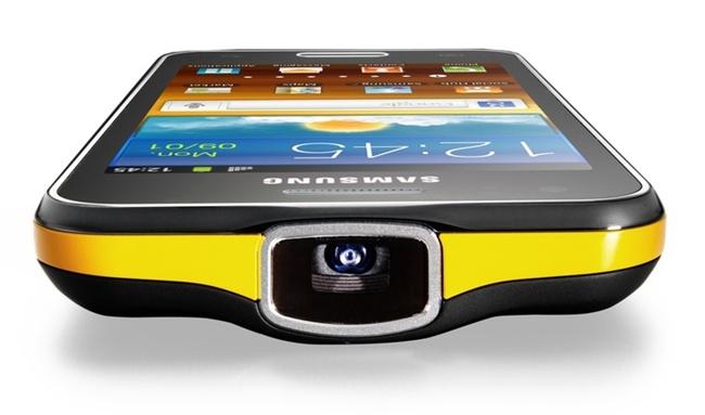 Galaxy Beam: смартфон с пико-проектором от Samsung
