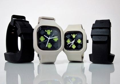 Наручные часы Google поступили в продажу