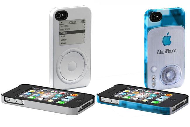 Ретро-кейсы для iPhone