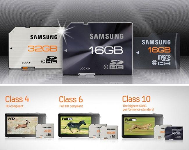 Металлические SD и microSD-карты от Samsung