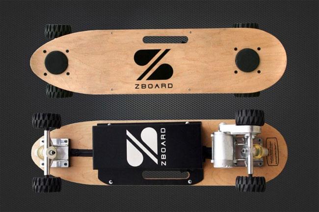 ZBoard – скейтборд с электромотором