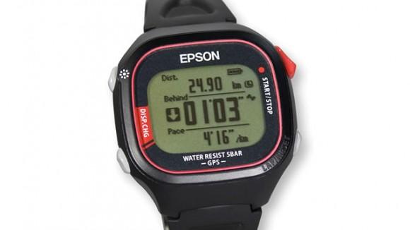 Самые легкие в мире GPS-часы от Epson