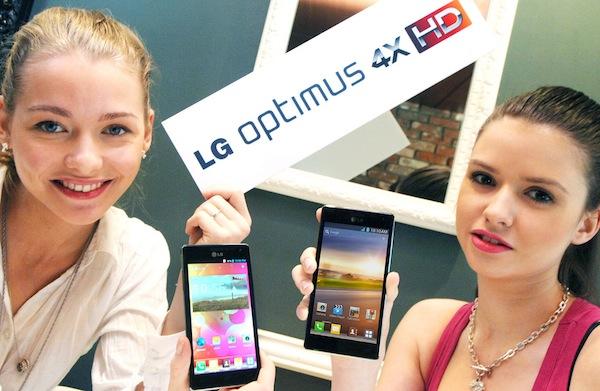 LG Optimus 4X HD станет первым смартфоном с Tegra 3?