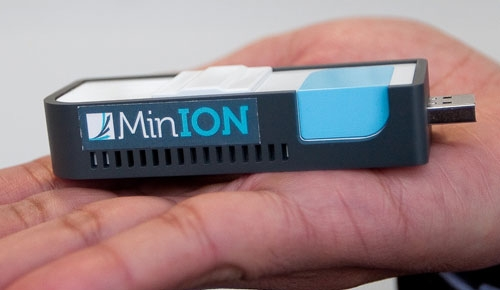 USB-секвенатор ДНК MinION