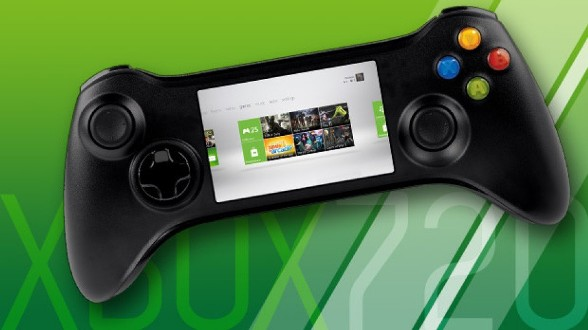 Xbox 720 снабдят геймпадом с сенсорным экраном?