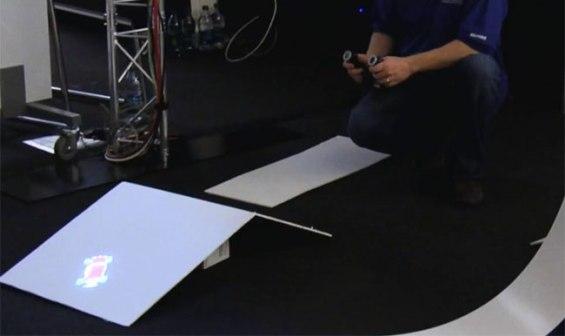 Концепт проектора дополненной реальности Beamatron от Microsoft
